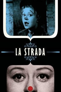 "Poster for the movie ""La Strada"""