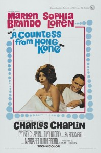 "Poster for the movie ""A Countess from Hong Kong"""