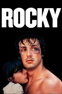 "Poster for the movie ""Rocky"""