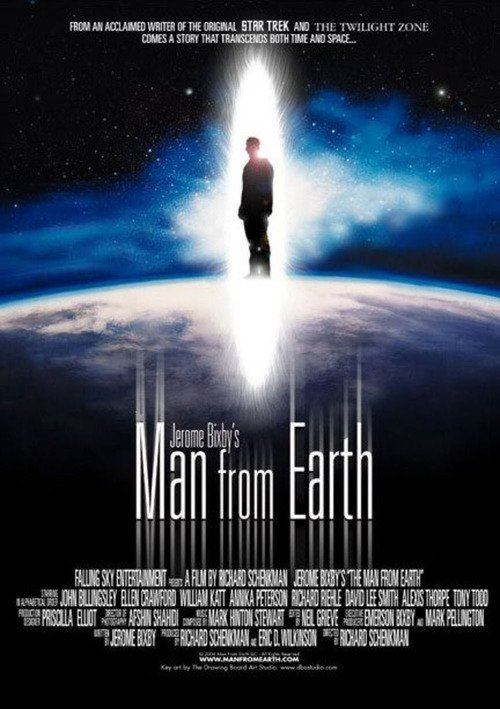 "Poster for the movie ""The Man from Earth"""