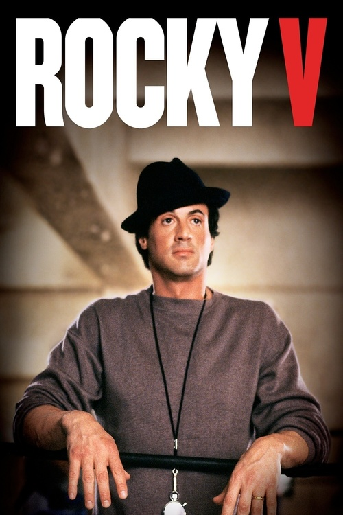 "Poster for the movie ""Rocky V"""