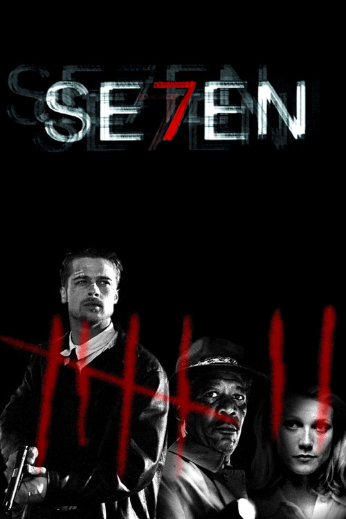 "Poster for the movie ""Se7en"""