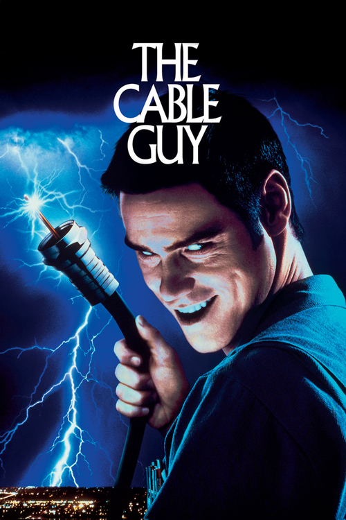 "Poster for the movie ""The Cable Guy"""