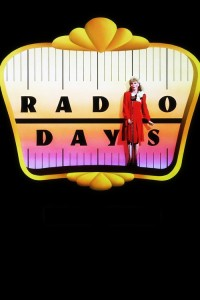 "Poster for the movie ""Radio Days"""