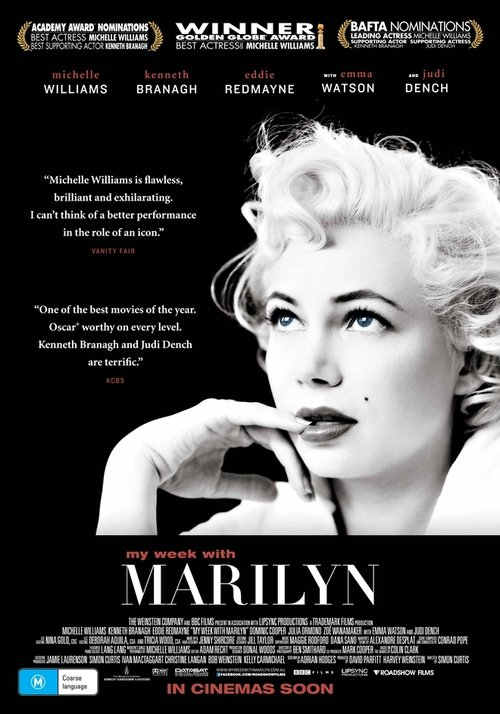 "Poster for the movie ""My Week with Marilyn"""