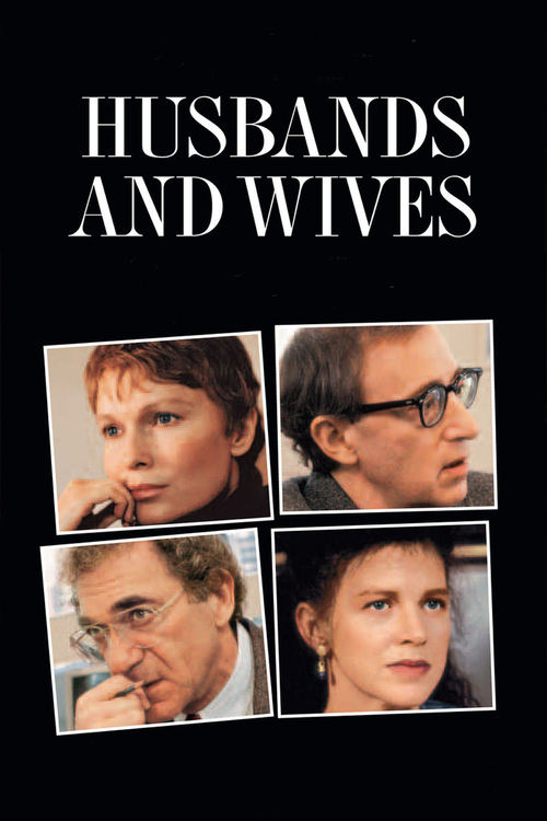 "Poster for the movie ""Husbands and Wives"""