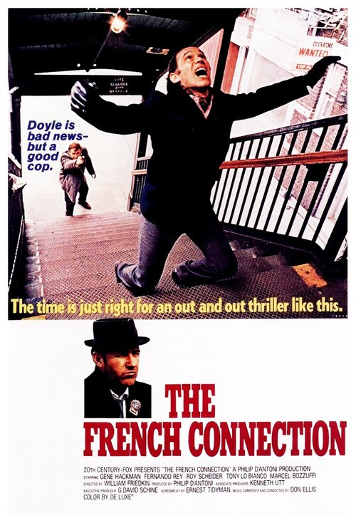 """Poster for the movie """"The French Connection"""""""
