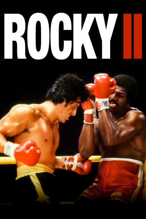 """Poster for the movie """"Rocky II"""""""