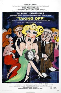"""Poster for the movie """"Taking Off"""""""