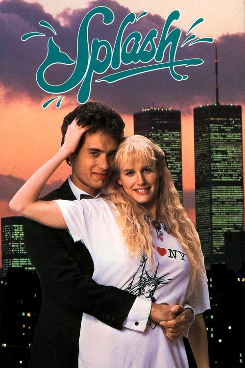 "Poster for the movie ""Splash"""