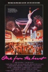 "Poster for the movie ""One from the Heart"""