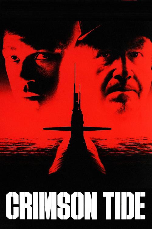 "Poster for the movie ""Crimson Tide"""