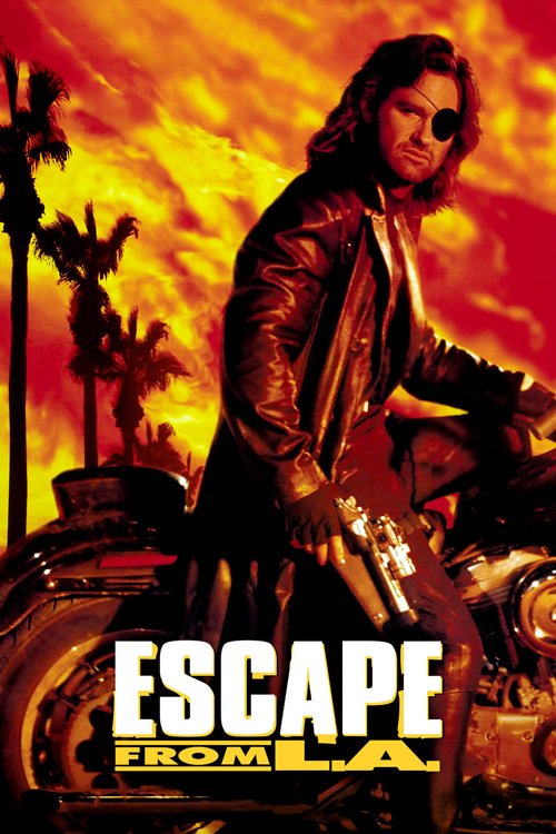 """Poster for the movie """"Escape from L.A."""""""