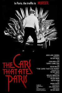 "Poster for the movie ""The Cars That Ate Paris"""