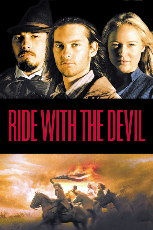 """Poster for the movie """"Ride with the Devil"""""""
