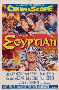 "Poster for the movie ""The Egyptian"""