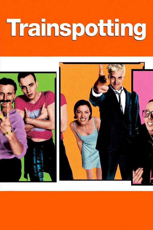 """Poster for the movie """"Trainspotting"""""""