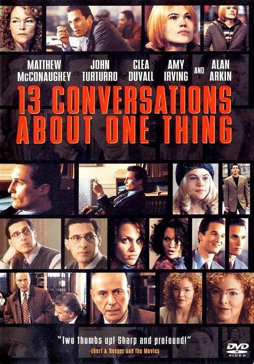 """Poster for the movie """"Thirteen Conversations About One Thing"""""""
