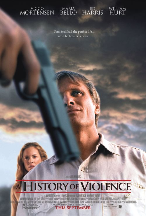 """Poster for the movie """"A History of Violence"""""""