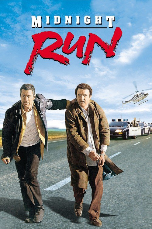 "Poster for the movie ""Midnight Run"""