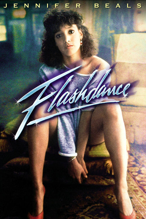 """Poster for the movie """"Flashdance"""""""
