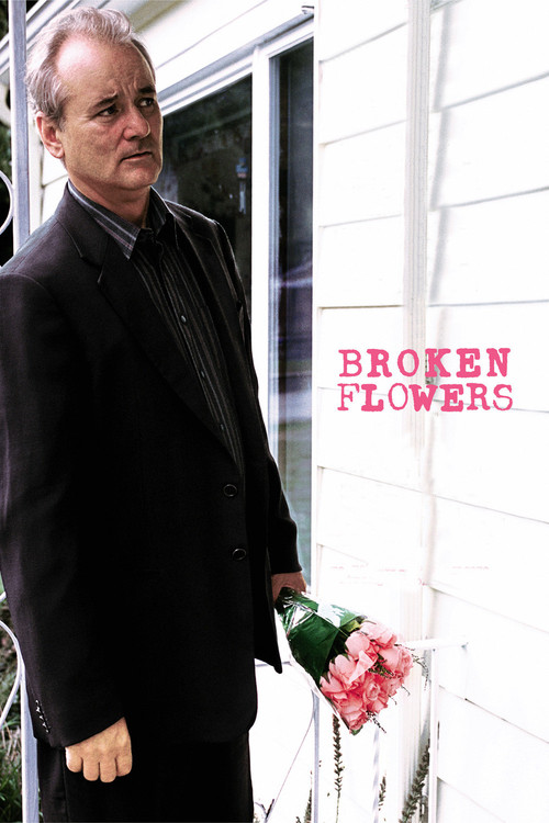 "Poster for the movie ""Broken Flowers"""
