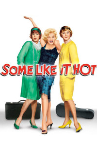 "Poster for the movie ""Some Like It Hot"""