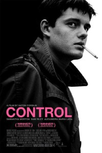 "Poster for the movie ""Control"""
