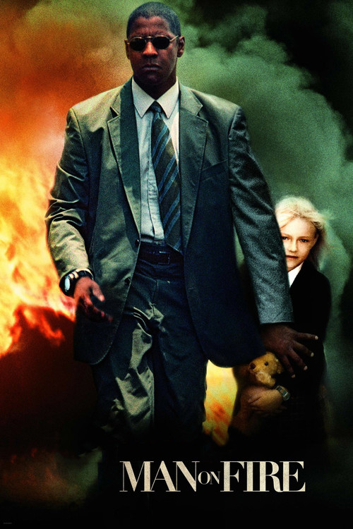 """Poster for the movie """"Man on Fire"""""""