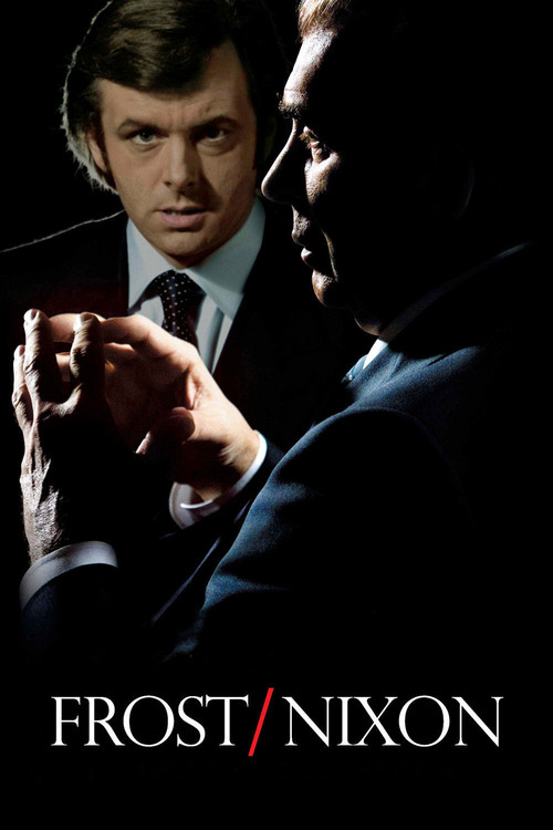 "Poster for the movie ""Frost/Nixon"""