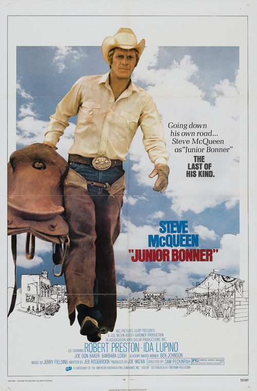 "Poster for the movie ""Junior Bonner"""