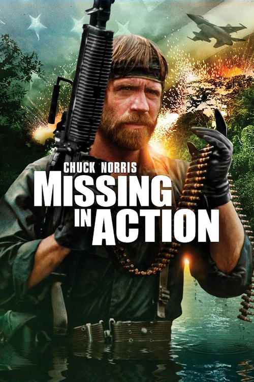"""Poster for the movie """"Missing in Action"""""""