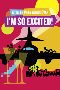 "Poster for the movie ""I'm So Excited!"""