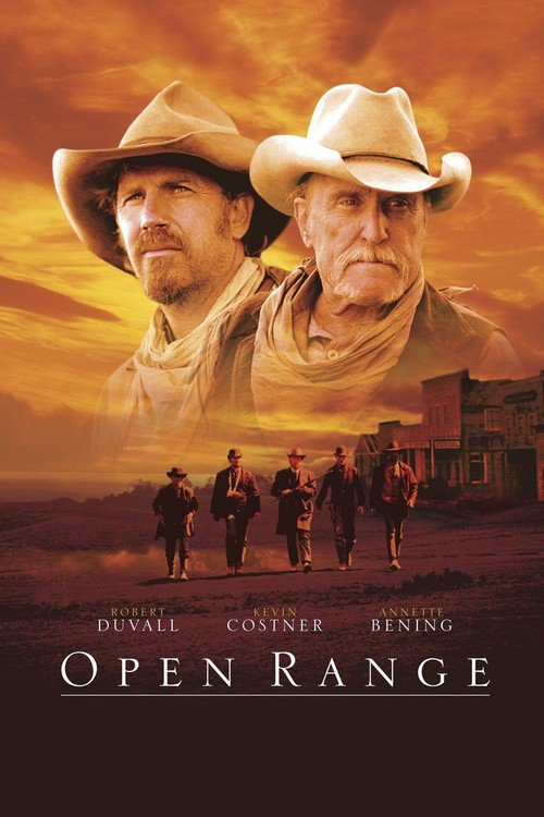 """Poster for the movie """"Open Range"""""""