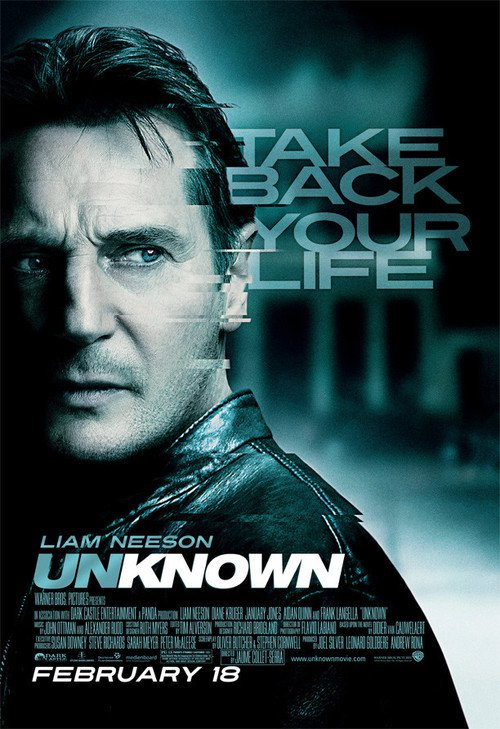 "Poster for the movie ""Unknown"""