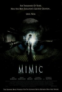 """Poster for the movie """"Mimic"""""""