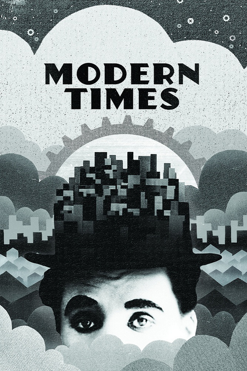 "Poster for the movie ""Modern Times"""
