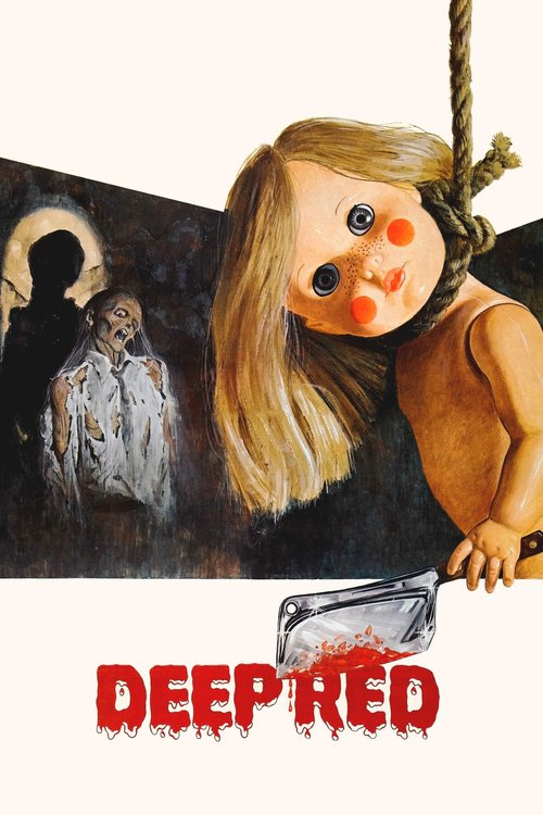 "Poster for the movie ""Deep Red"""