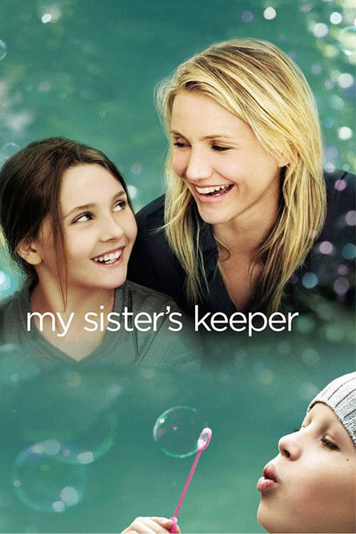 "Poster for the movie ""My Sister's Keeper"""