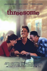 """Poster for the movie """"Threesome"""""""
