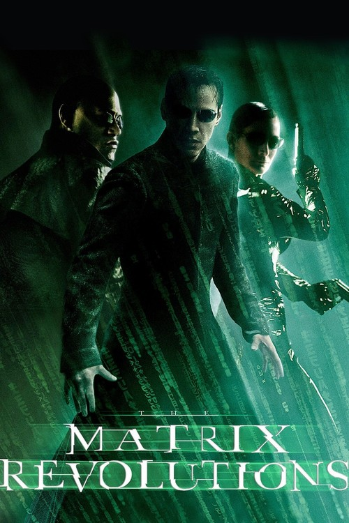"""Poster for the movie """"The Matrix Revolutions"""""""