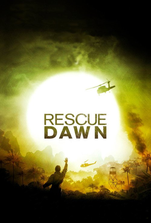 "Poster for the movie ""Rescue Dawn"""