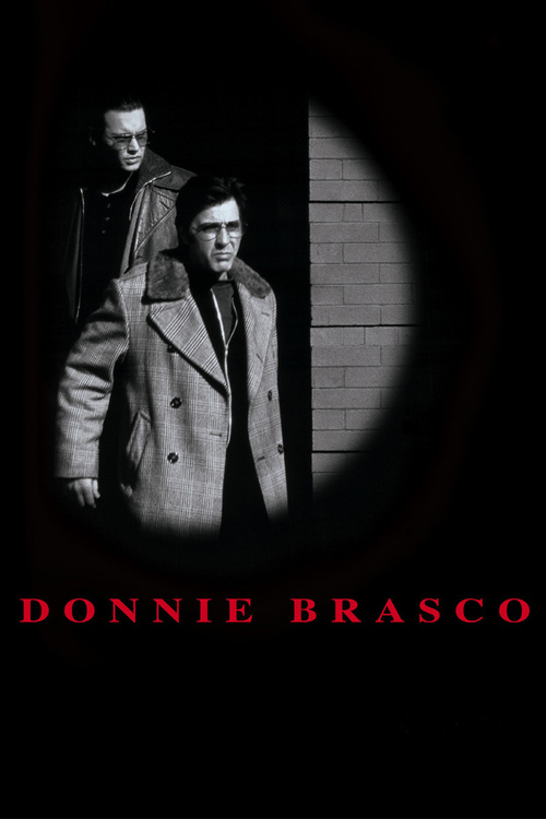 """Poster for the movie """"Donnie Brasco"""""""