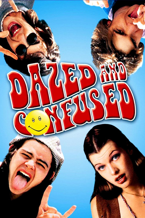 "Poster for the movie ""Dazed and Confused"""