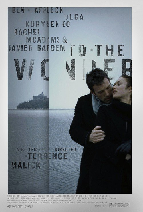 """Poster for the movie """"To the Wonder"""""""