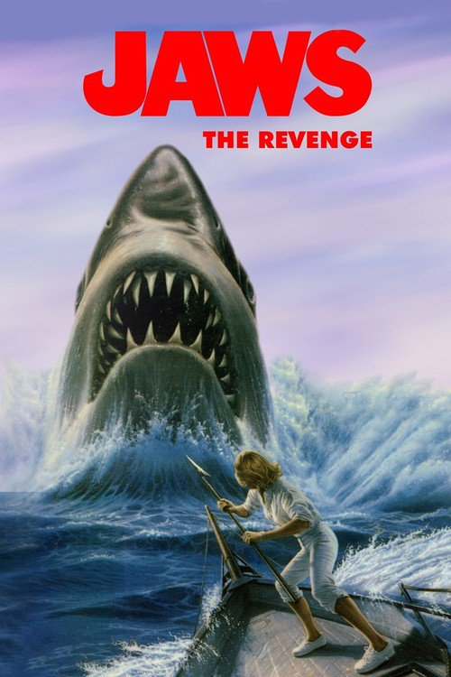 """Poster for the movie """"Jaws: The Revenge"""""""