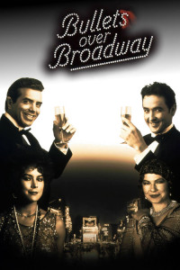 "Poster for the movie ""Bullets Over Broadway"""