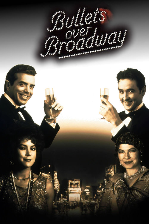 """Poster for the movie """"Bullets Over Broadway"""""""