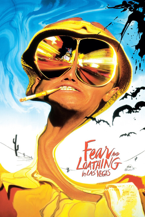 "Poster for the movie ""Fear and Loathing in Las Vegas"""