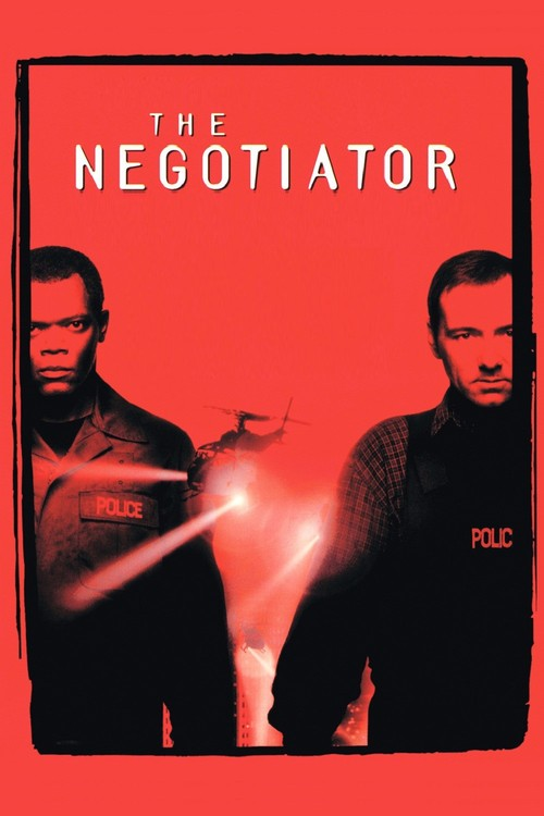 "Poster for the movie ""The Negotiator"""
